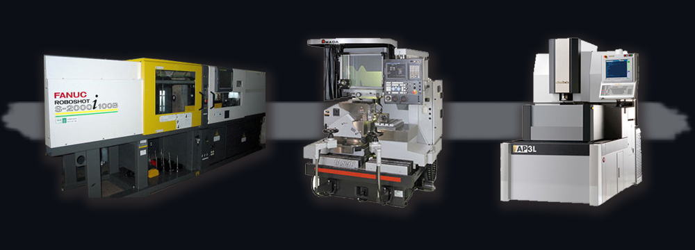 secondhand injection molding machines